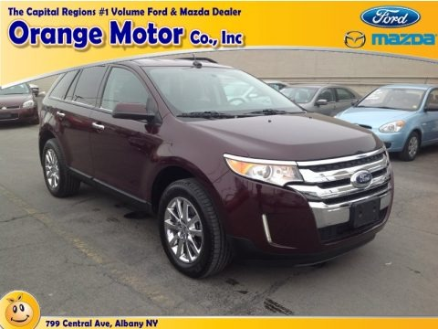 Bordeaux Reserve Red Metallic 2011 Ford Edge SEL AWD