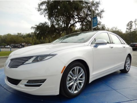 White Platinum 2014 Lincoln MKZ FWD