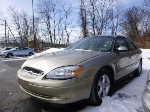 Harvest Gold Metallic 2001 Ford Taurus SES