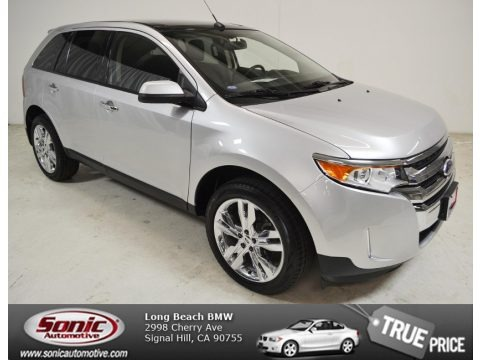 Ingot Silver Metallic 2011 Ford Edge SEL