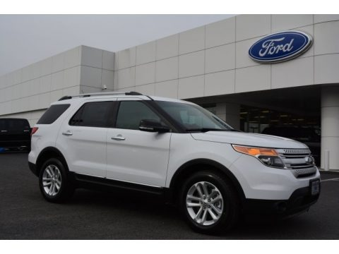 Oxford White 2014 Ford Explorer XLT