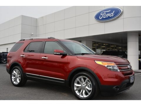 Ruby Red 2014 Ford Explorer Limited
