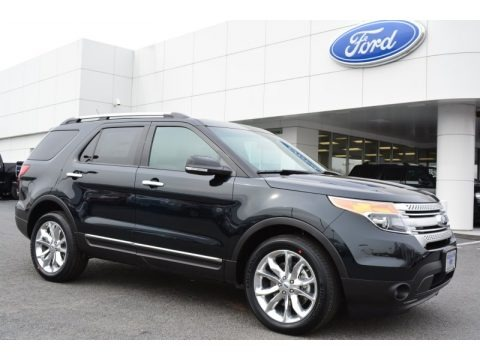 Dark Side 2014 Ford Explorer XLT 4WD