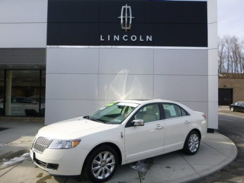 Crystal Champagne Metallic Tri-Coat 2012 Lincoln MKZ AWD