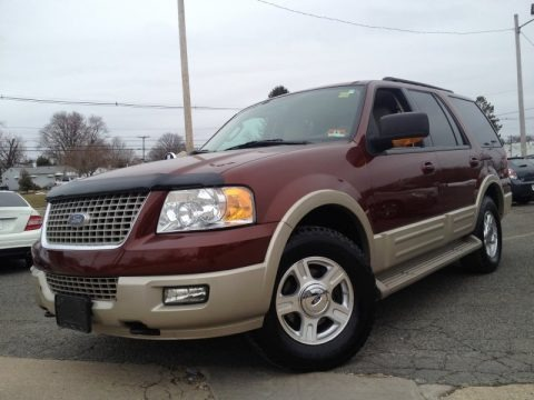 Dark Copper Metallic 2006 Ford Expedition Eddie Bauer 4x4