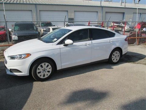 Oxford White 2014 Ford Fusion S