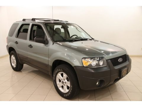 Titanium Green Metallic 2005 Ford Escape XLT V6