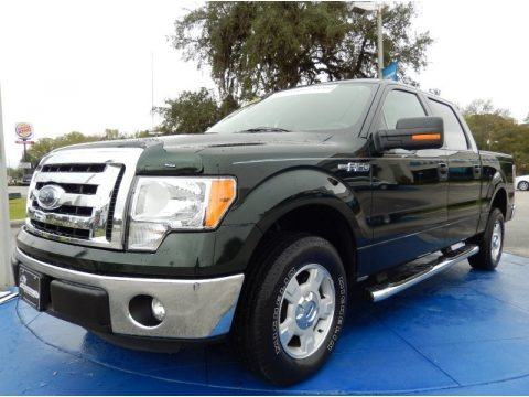 Green Gem Metallic 2012 Ford F150 XLT SuperCrew