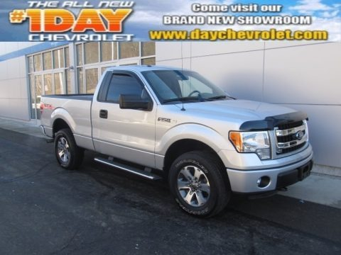 Ingot Silver Metallic 2013 Ford F150 STX Regular Cab 4x4