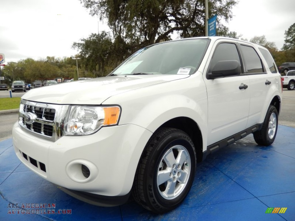 2012 ford escape xls in white suede c37197 all american automobiles buy american cars for. Black Bedroom Furniture Sets. Home Design Ideas