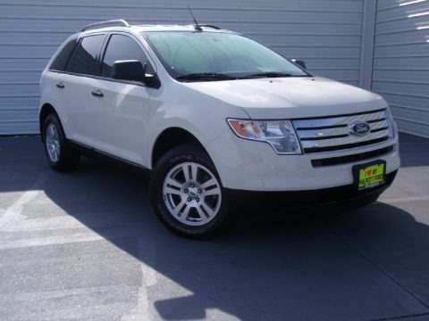 White Suede 2010 Ford Edge SE