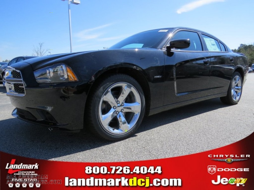 2014 dodge charger r t max in pitch black 238008 all for Steve white motors inc