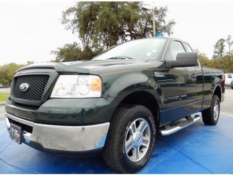 Aspen Green Metallic 2006 Ford F150 XLT Regular Cab