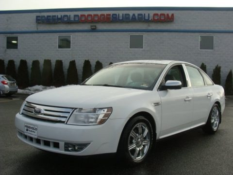 Oxford White 2008 Ford Taurus Limited