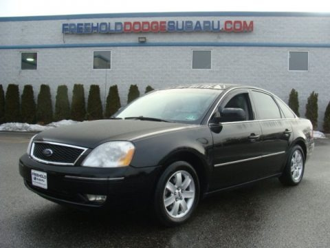 Black 2006 Ford Five Hundred SEL AWD