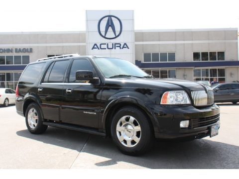 Black 2006 Lincoln Navigator Luxury