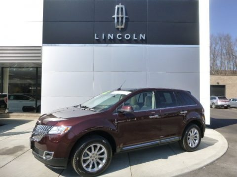 Cinnamon Metallic 2012 Lincoln MKX AWD
