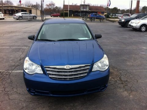 Deep Water Blue Pearl 2009 Chrysler Sebring LX Sedan