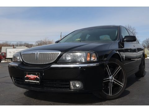 Black 2005 Lincoln LS V6 Luxury