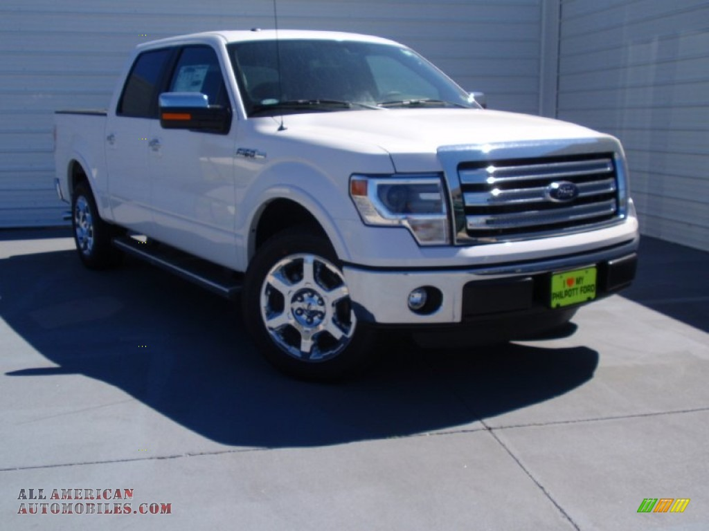 2014 ford f150 lariat supercrew in white platinum d59118 all american automobiles buy. Black Bedroom Furniture Sets. Home Design Ideas