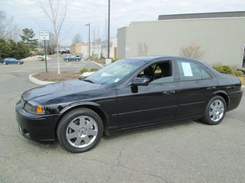 Black Clearcoat 2004 Lincoln LS V8
