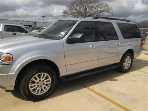 Ingot Silver 2014 Ford Expedition EL XLT