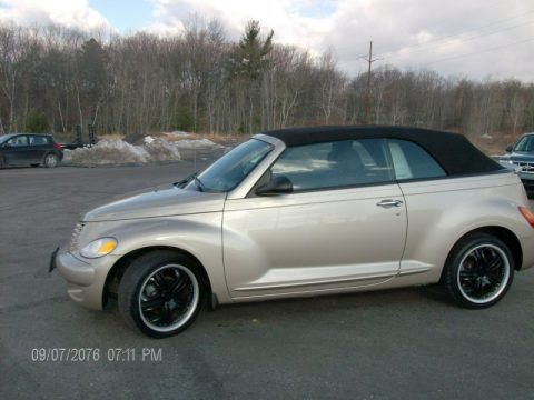 Bright Silver Metallic 2005 Chrysler PT Cruiser Touring Turbo Convertible