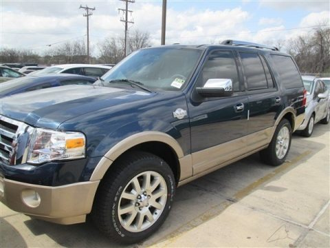 Blue Jeans 2014 Ford Expedition King Ranch
