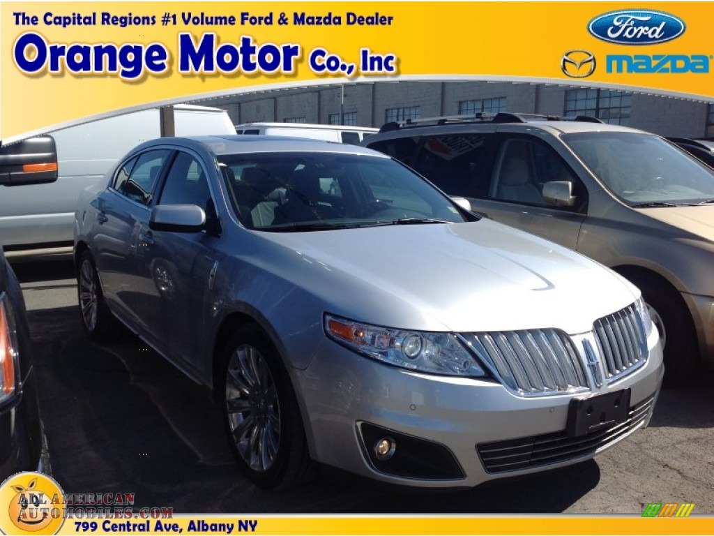 2012 lincoln mks awd in silver diamond premium metallic for Orange motors albany new york