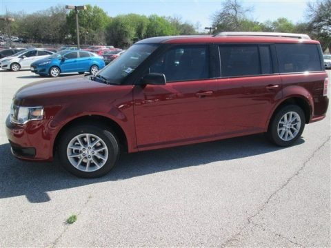 Sunset 2014 Ford Flex SE