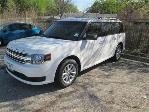 Oxford White 2014 Ford Flex SE