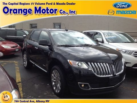 Tuxedo Black Metallic 2011 Lincoln MKX Limited Edition AWD