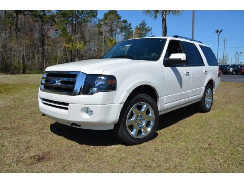 Oxford White 2014 Ford Expedition Limited 4x4