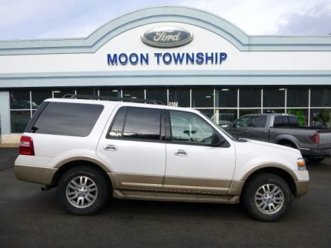 Oxford White 2012 Ford Expedition XLT 4x4