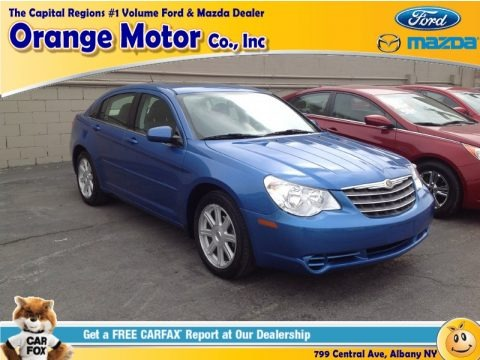 Marathon Blue Pearl 2007 Chrysler Sebring Touring Sedan