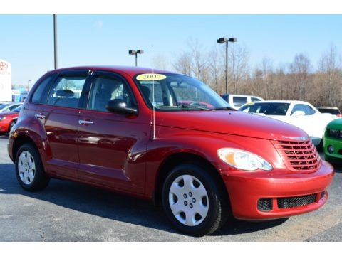 Inferno Red Crystal Pearl 2008 Chrysler PT Cruiser LX
