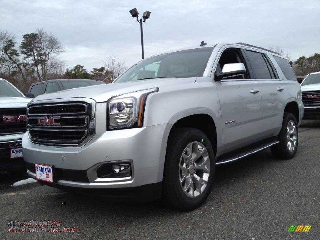 2015 gmc yukon slt 4wd in quicksilver metallic 124301 all american automobiles buy. Black Bedroom Furniture Sets. Home Design Ideas