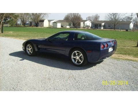 LeMans Blue Metallic 2004 Chevrolet Corvette Coupe
