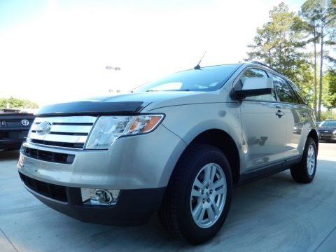 Vapor Silver Metallic 2008 Ford Edge SEL