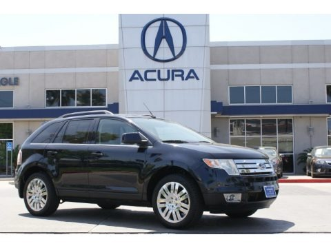Black 2008 Ford Edge Limited