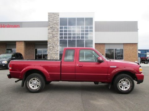 Torch Red 2006 Ford Ranger Sport SuperCab