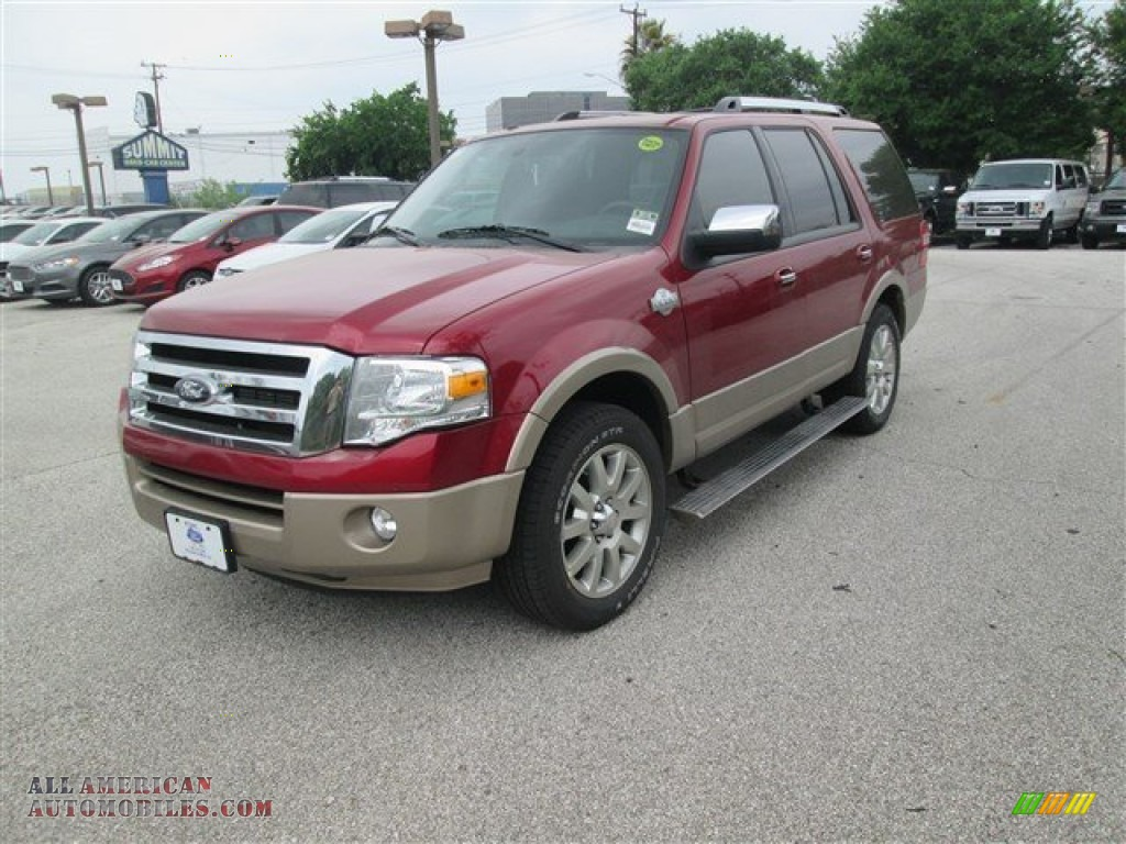 2014 ford expedition king ranch in ruby red f32406 all american automobiles buy american. Black Bedroom Furniture Sets. Home Design Ideas