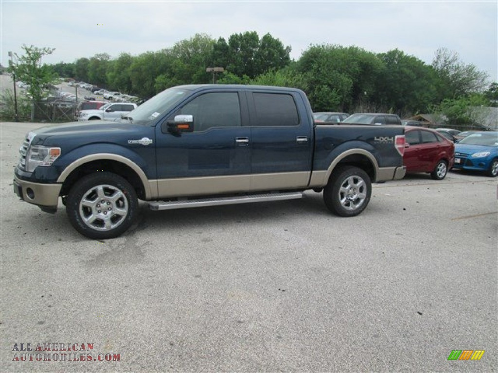 2014 ford f150 king ranch supercrew 4x4 in blue jeans. Black Bedroom Furniture Sets. Home Design Ideas