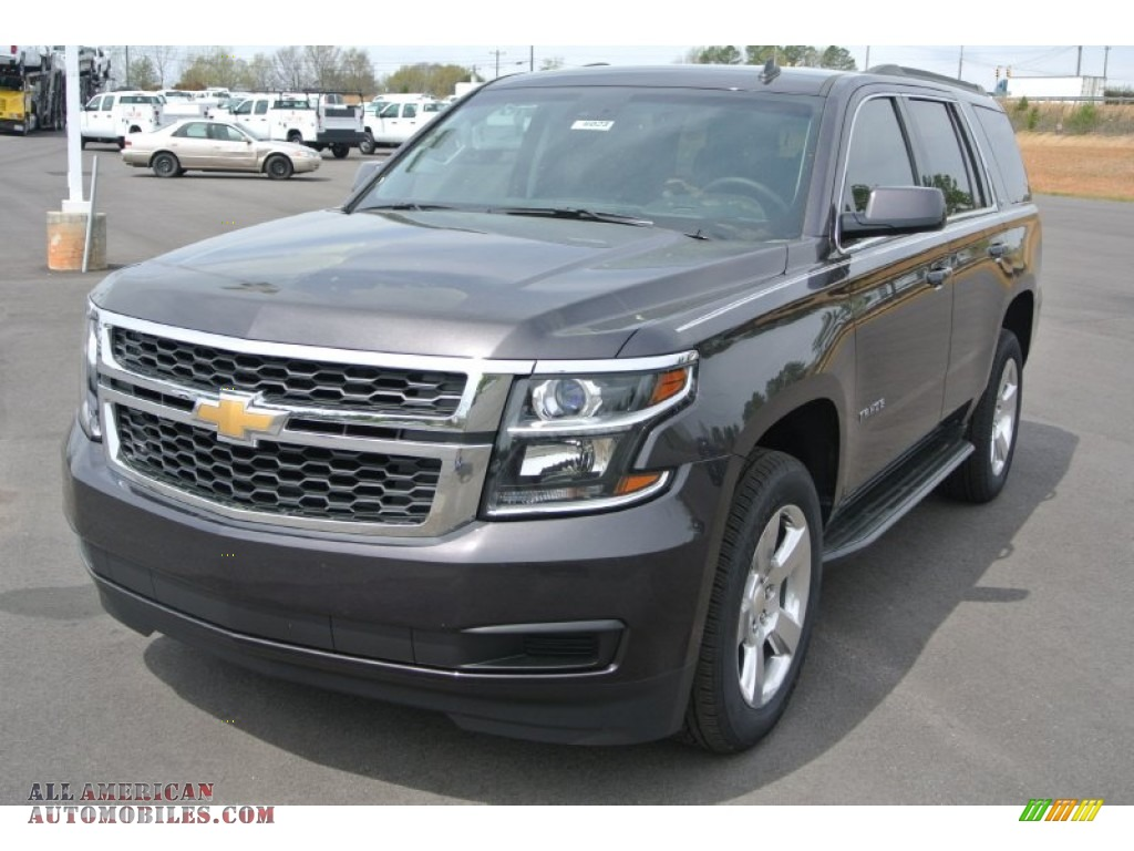 2015 chevrolet tahoe lt in tungsten metallic photo 2 117639 all american automobiles buy. Black Bedroom Furniture Sets. Home Design Ideas