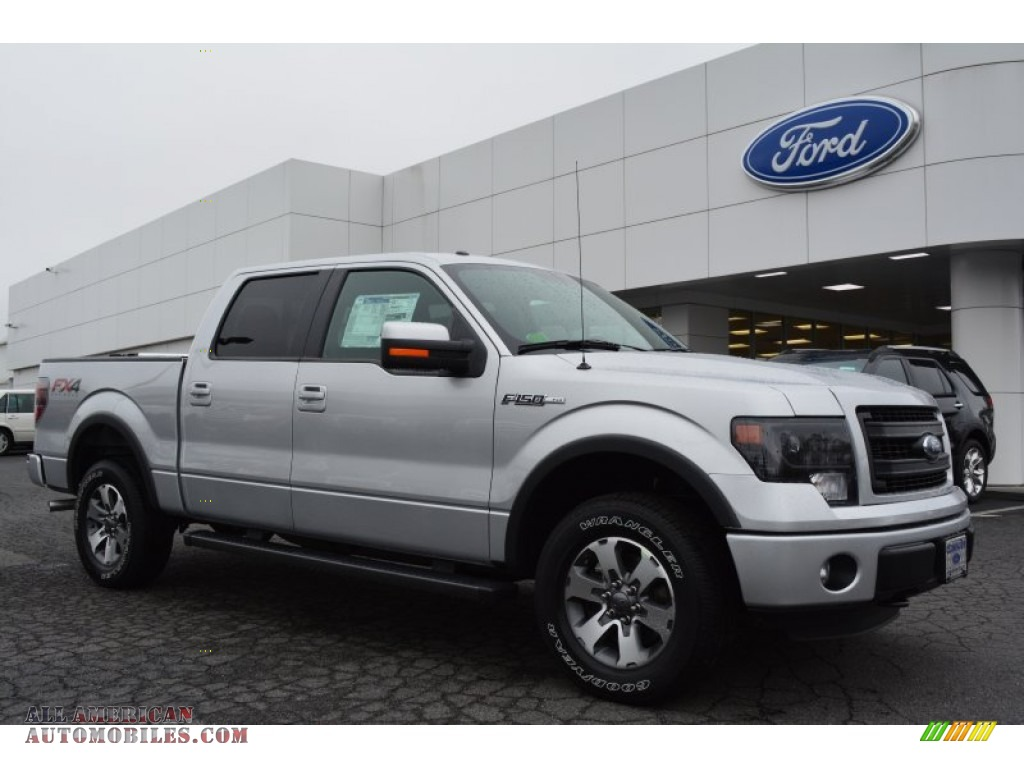 2014 Ford F150 Fx4 Supercrew 4x4 In Ingot Silver B25175
