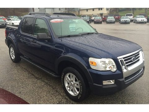 Dark Blue Pearl Metallic 2008 Ford Explorer Sport Trac XLT 4x4