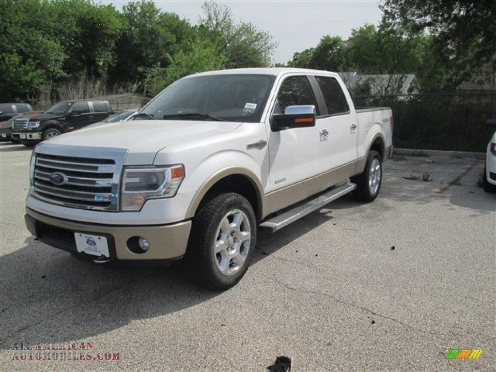2014 ford f150 king ranch supercrew 4x4 in white platinum d72666 all american automobiles. Black Bedroom Furniture Sets. Home Design Ideas