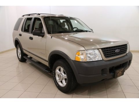 Pueblo Gold Metallic 2004 Ford Explorer XLS 4x4