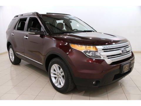 Bordeaux Reserve Red Metallic 2011 Ford Explorer XLT 4WD