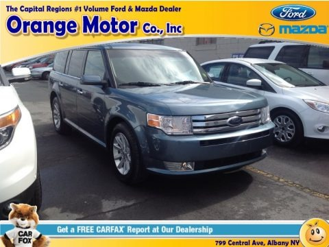 Steel Blue Metallic 2010 Ford Flex SEL AWD